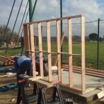 Construction cabine de scorage