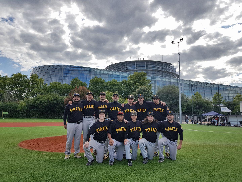 Equipe Senior Baseball Béziers Septembre 2017